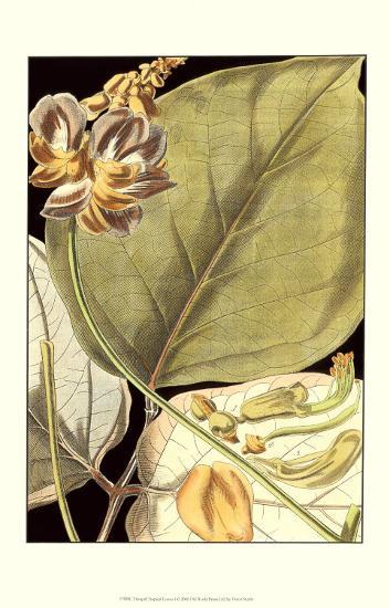 Tranquil Tropical Leaves I--Art Print