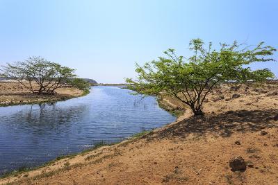 Tranquil Waters of Khor Rori (Rouri), Oman-Eleanor Scriven-Photographic Print