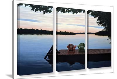 Tranquility, 3 Piece Gallery-Wrapped Canvas Set-Ken Kirsh-Gallery Wrapped Canvas Set