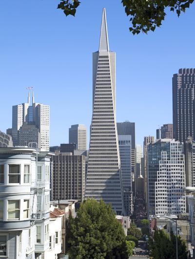 Trans America Building, San Francisco, California, United States of America, North America-Gavin Hellier-Photographic Print