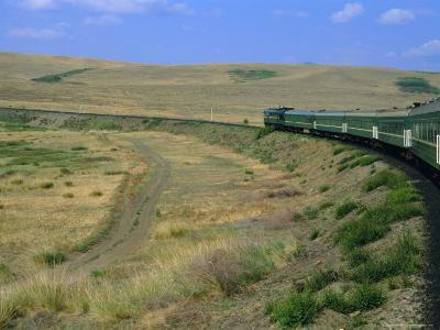 Trans-Siberian Express, Siberia, Russia-Bruno Morandi-Photographic Print
