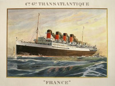 Transatlantique France-Marcus Jules-Giclee Print