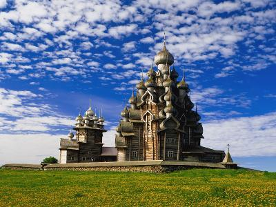 Transfiguration Cathedral on Kizhi Island-Design Pics Inc-Photographic Print