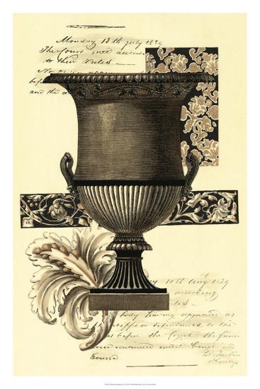 Transitional Sepia Urn I--Art Print