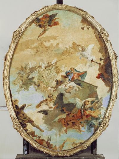 Translation of the Holy House from Nazareth to Loreto-Giovanni Battista Tiepolo-Giclee Print