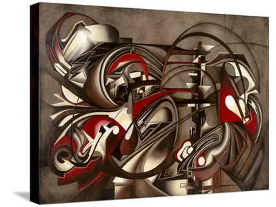 Transmission-Laura Ceccarelli-Stretched Canvas Print