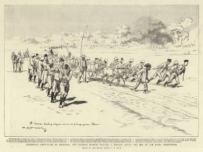 Transport Difficulties in Rhodesia-Charles Edwin Fripp-Giclee Print