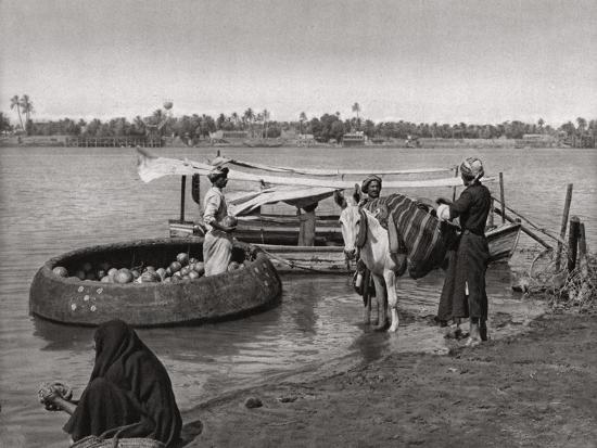 Transport in Iraq, 1925-A Kerim-Giclee Print