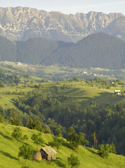 Transylvanian Alps, Near Fundata, Transylvania, Romania, Europe-Gary Cook-Photographic Print