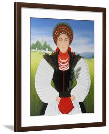 Transylvanian Bride-Magdolna Ban-Framed Giclee Print