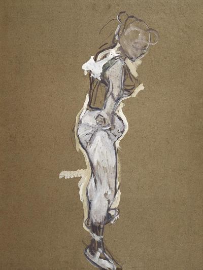 Trapeze Artist Dressing-Henri de Toulouse-Lautrec-Art Print