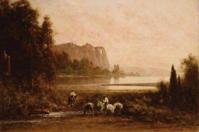 Trappers in Yosemite Mountains, 1899-Thomas Hill-Giclee Print