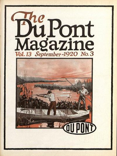 Trapshooting, Front Cover of the 'Dupont Magazine', September 1920-American School-Giclee Print
