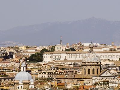 Trastevere District from Janiculum Hill-Will Salter-Photographic Print