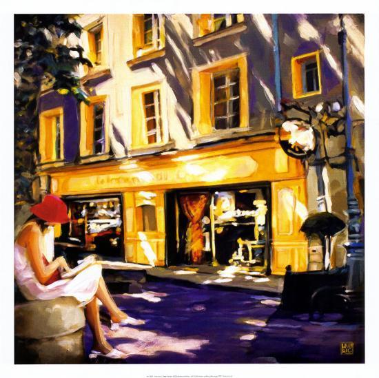 Trattoir Parisien-Oana Lauric-Art Print