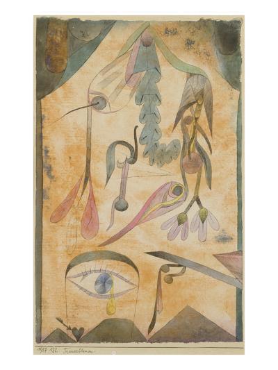 Trauerblumen, 1917-Paul Klee-Giclee Print