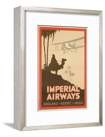 Travdel Poster for Imperial Airways