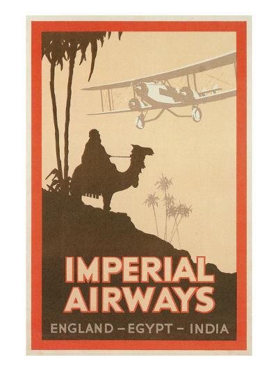 Travdel Poster for Imperial Airways--Art Print