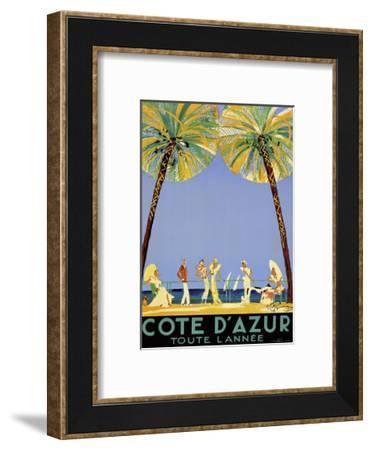 Travel 0192-Vintage Lavoie-Framed Giclee Print