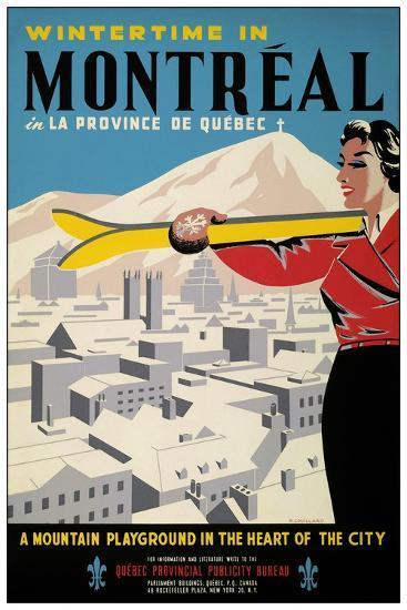 Travel 0245-Vintage Lavoie-Giclee Print