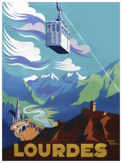Travel 0388-Vintage Lavoie-Giclee Print