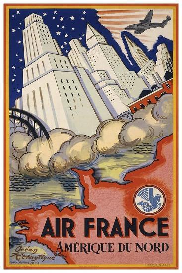 Travel Air 0006-Vintage Lavoie-Giclee Print