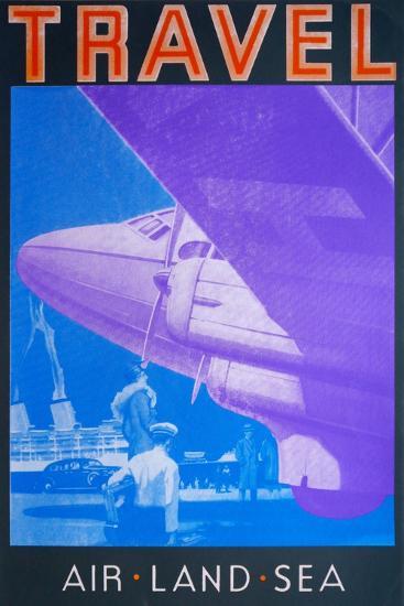 Travel: Air, Land Sea-David Studwell-Giclee Print