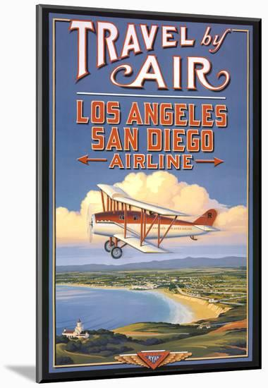 Travel by Air-Kerne Erickson-Mounted Art Print