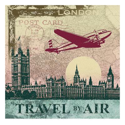 Travel by Air-Malcolm Watson-Art Print