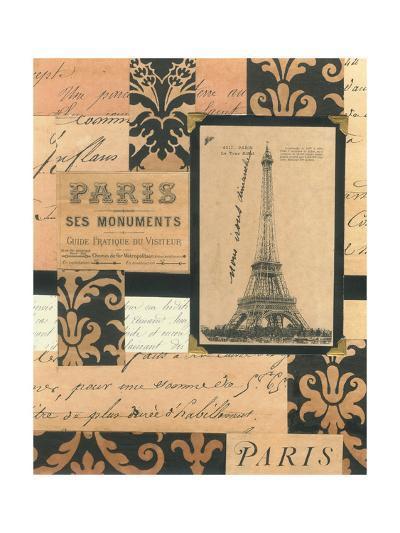 Travel Collage I-Gillian Fullard-Art Print