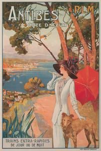 Travel Poster, Antibes