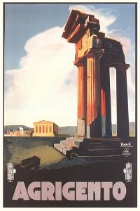 Travel Poster for Agrigento