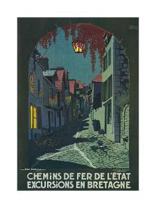 Travel Poster for Brittany