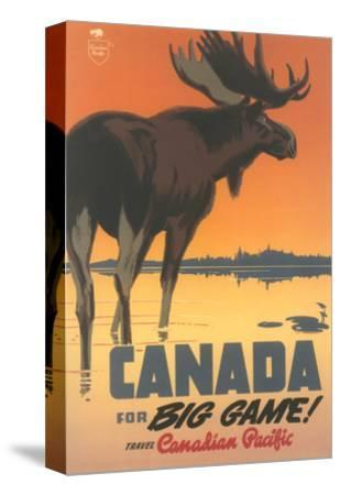 Travel Poster for Canada, Moose