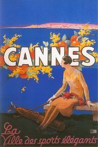 Travel Poster for Cannes