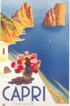 Travel Poster for Capri