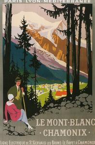 Travel Poster for Chamomix