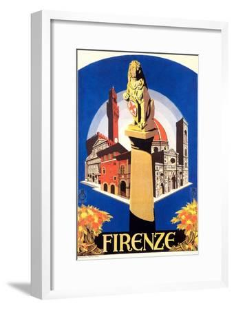 Travel Poster for Florence