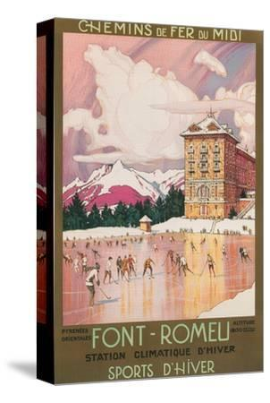 Travel Poster for Font-Romeu, France