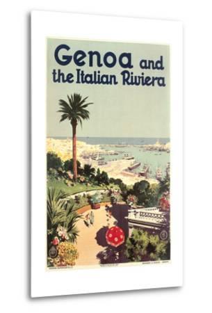 Travel Poster for Genoa