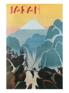 Travel Poster for Japan