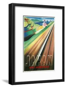 Travel Poster for Japanese Railways
