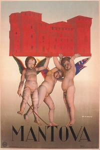 Travel Poster for Mantua