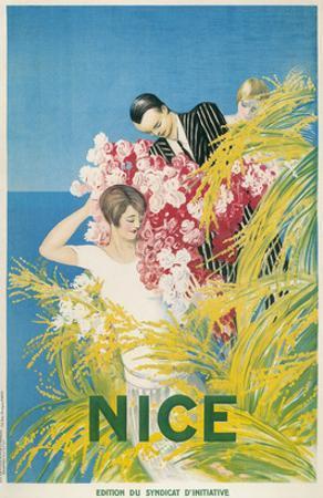 Travel Poster for Nice, France