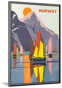 Travel Poster for Norway
