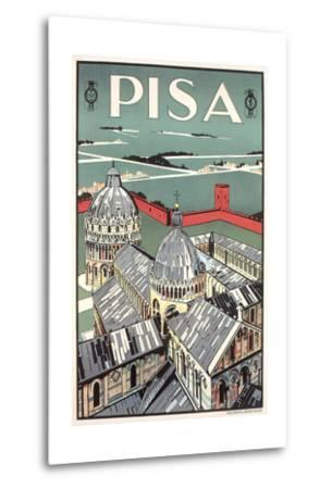 Travel Poster for Pisa