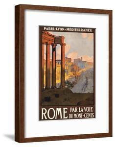 Travel Poster for Rome, Italy
