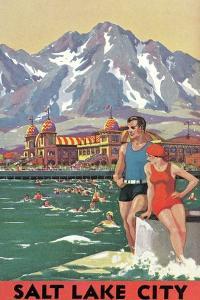 Travel Poster for Salt Lake City