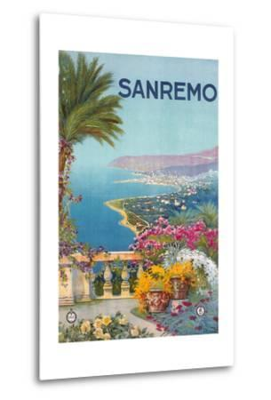 Travel Poster for San Remo