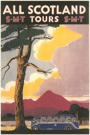 Travel Poster for Scotland